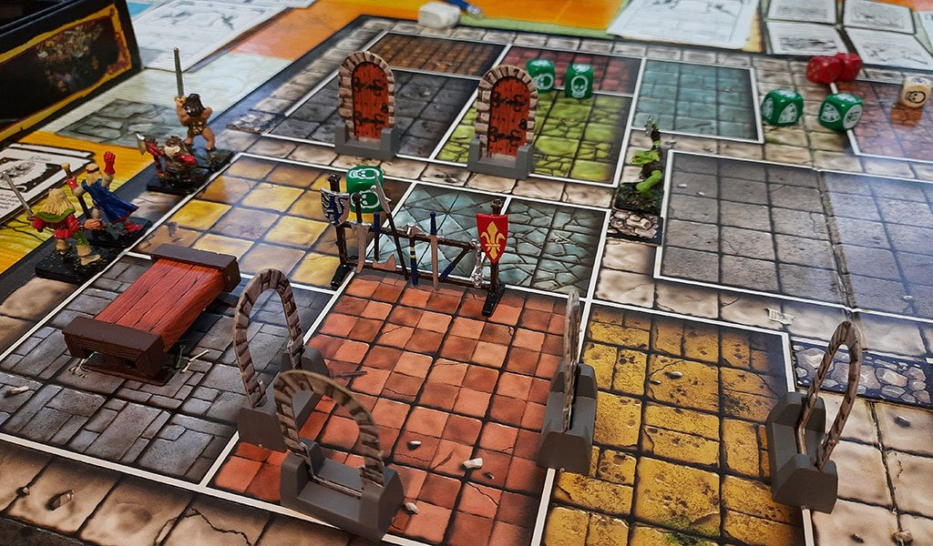 D&D Board Game: Hero Quest
